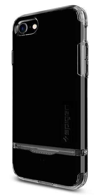 "4 opinioni per Spigen iPhone 7 Case Flip Armor 4.7"" Cover Nero"