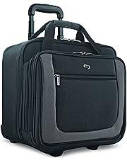 SOLO Solo Bryant 17.3 Inch Rolling Laptop Case, Black/Grey, Amazon Exclusive