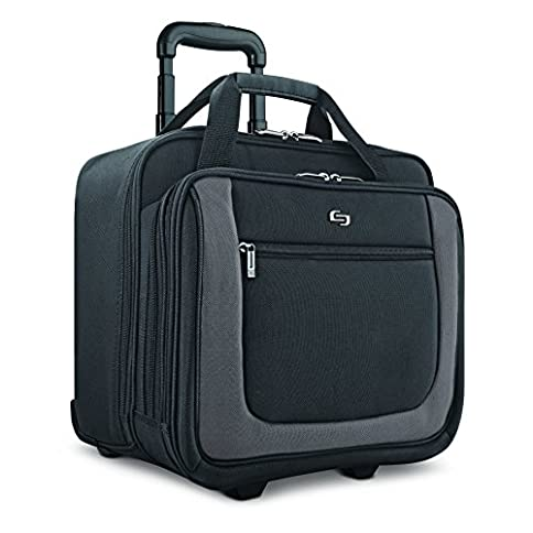 Solo New York Bryant Rolling Laptop Bag. Travel-friendly Rolling Briefcase for Women and Men. Fits up to 17.3 inch laptop. Amazon Exclusive Color Black/Grey - 51wfCF5dMvL - Solo New York Bryant Rolling Laptop Bag. Travel-friendly Rolling Briefcase for Women and Men. Fits up to 17.3 inch laptop. Amazon Exclusive Color Black/Grey