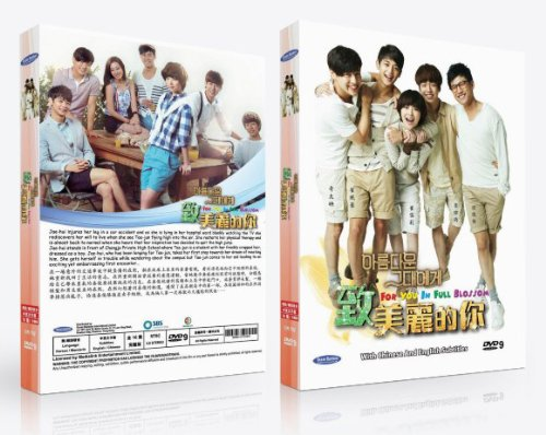 For You in Full Blossom Korean Tv Drama Dvd (16 Episodes 4 Dvd) Digipak Deluxe - In Outlets Ri