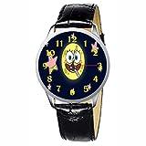 LCW073-3 New Spongebob Square Pants Stainless Wristwatch Wrist Watch