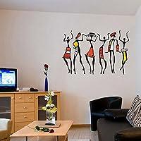 Decals Design 'African Dancing Women' Wall Sticker