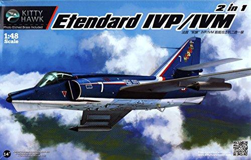 Kitty Hawk KTH80137 1:48 Etendard IVP/IVM (2 in 1) [Model Building ()