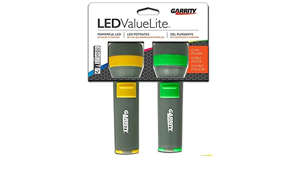 Amazon.com: Garrity 2D Value Lite LED Flashlights (Twin Pack): Automotive