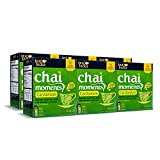 Tea India Chai Moments, Cardmom, Instant Chai Tea Latte, 10 Count (Pack of 6)