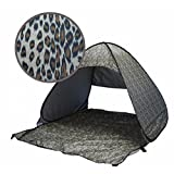 Heng Heng - UV protection fully sun shade Quick Automatic Leopard