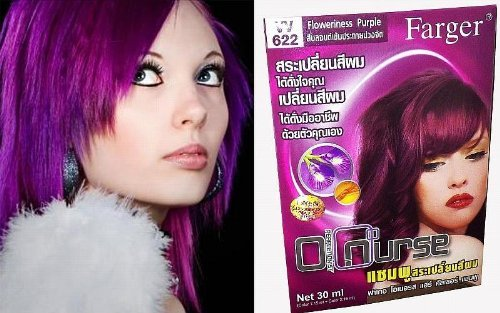 loreal hair color instruction leaflet