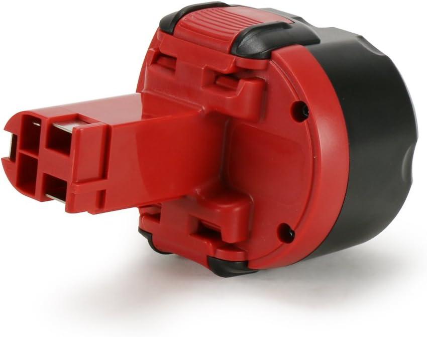 2 607 335 272 2x Batterie pour Bosch 9,6v 3000mah ni-mh remplace 2607335272