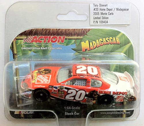 (2005 NASCAR Action Racing Collectables . . . Tony Stewart #20 Home Depot / Madagascar)