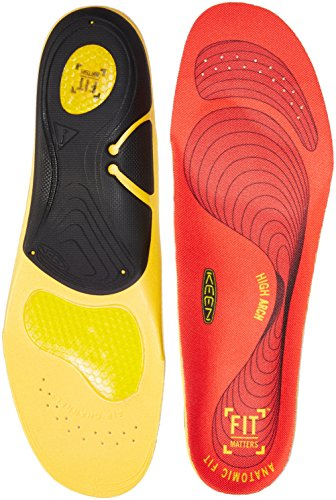 (Keen Utility K-30 High Arch Insole,Red, 8.5 - 10)