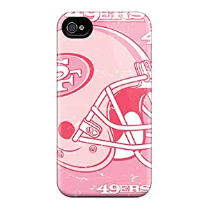 Randapy4x65 Perfect Tpu Cases For Iphone 6/ Anti-scratch Protector Cases (san Francisco 49ers)