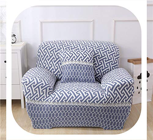 Elastic Sofa Covers Stretch Universal Sectional Throw Couch Corner Cover Cases for Living Room Furniture Armchairs Home Decor,Color 9,3-Seater 190-230cm