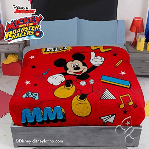 MICKEY MOUSE DISNEY ORIGINAL FLEECE BLANKET 1 PCS FULL SIZE