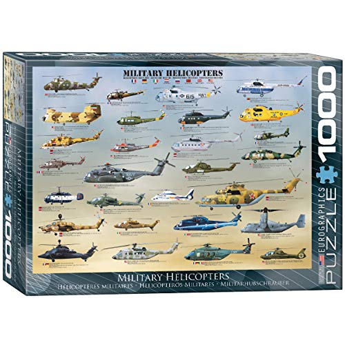 EuroGraphics Military Helicopters Puzzle (1000-Piece) ()