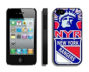 Custom Iphone 4/4s Case NHL New York Rangers 1 Cellphone Cover Cheap