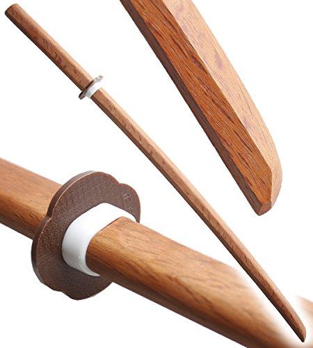 Bokken Kendo Haute Qualité Epee en Bois Entrainement Haut de Gamme RED OAK WOOD Arts Martiaux Sabre Katana Repliksword