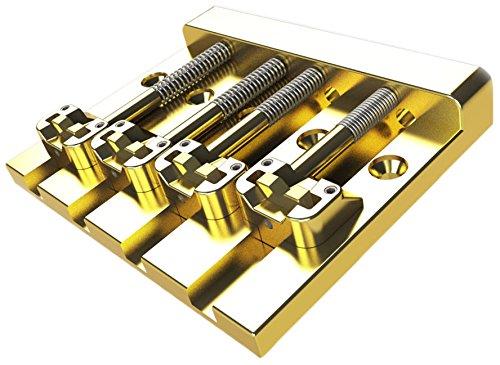 【正規品】 HIPSHOT ベースブリッジ KICKASS 4弦用 ゴールド BR/KICKASS G B01LQ56Q46 ゴールドゴールド