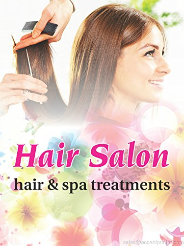 """Hair Salon Spa Business Retail Display Sign, 18""""w x 24""""h, Full Color"""