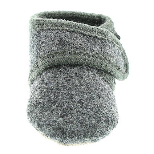 Celavi Patucos para bebé unisex de lana, 100% lana, 5712 Gris oscuro