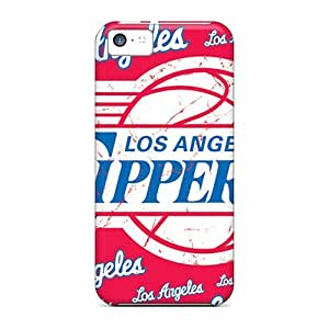 Iphone 5c RXW4160pJlV Customized HD Los Angeles Clippers Skin Excellent Cell-phone Hard Cover -JasonPelletier
