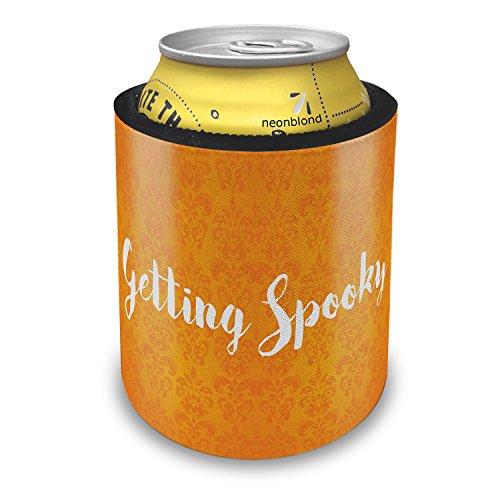 NEONBLOND Getting Spooky Halloween Orange Wallpaper Slap Can