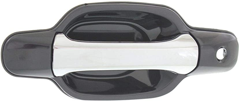 Exterior Door Handle For 2004-2012 Chevrolet Colorado Front Driver Side Chrome