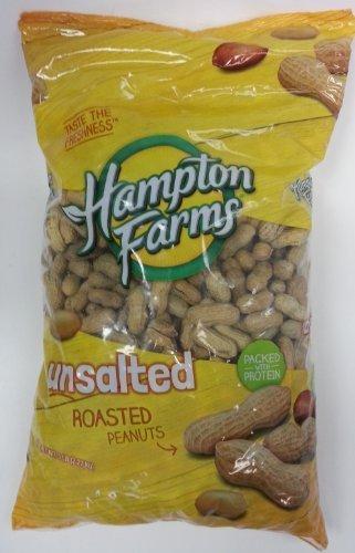 Hampton Farms No Salt Roasted In Shell Peanuts - 5lb Bag by hampton farms [Foods]