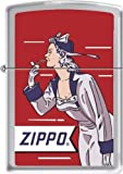 2013N ZIPPO 205 Windy Girl Red