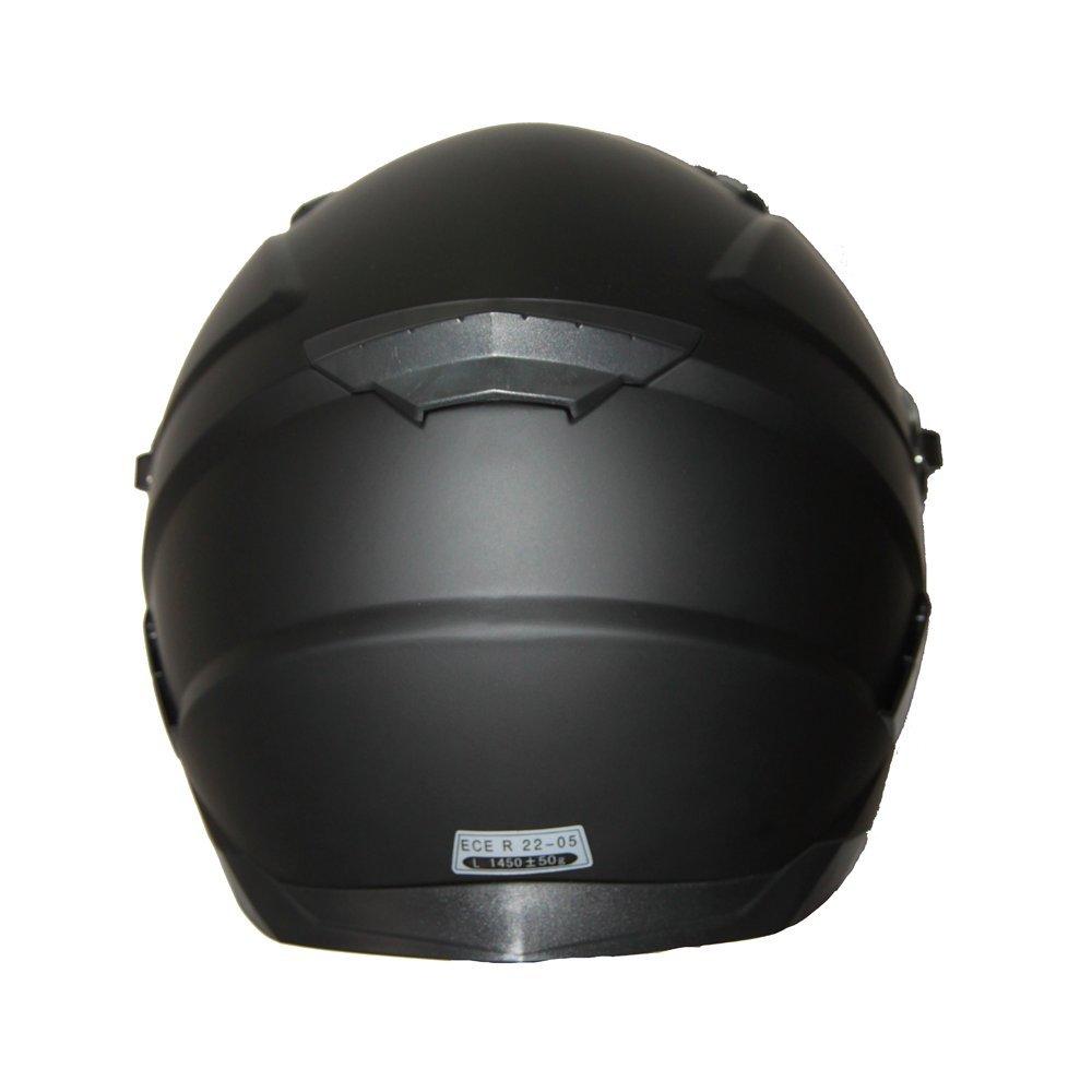 Nero Metallizzato S BHR 94074 Casco Integrale Modello Tourer 714