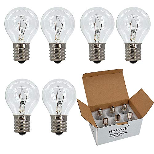 S11 Intermediate E17 Base 25 Watt Bulbs for Lava Lamps,Replacement Bulbs for Lava Lamps,Glitter Lamps