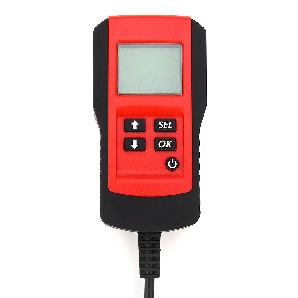 OLSUS Car Digital Battery Test Analyzer - YELLOW AND RED by OLSUS (Image #3)