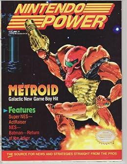 Amazon.com: Official Nintendo Metroid (Nintendo Power, Vol ...