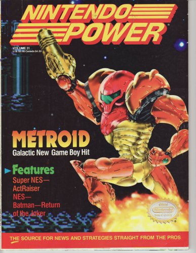Official Nintendo  Metroid (Nintendo Power, Vol. 31)