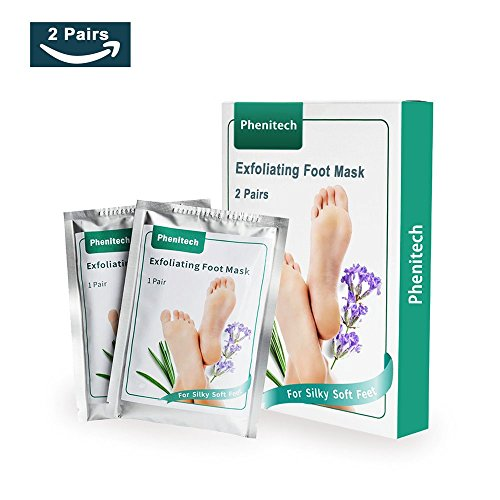 Soft Peel (Phenitech Foot Peel Mask Exfoliating Callus Remover for Soft Baby Skin Foot Peeling Booties for Feet Treatment)