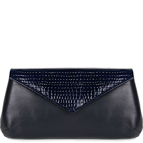 Navy Handbag Chic Clutch navy Print Sabrina Saba 4 Envelope Women's anq0YZ