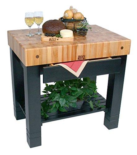 Table Drawer Work (John Boos Kitchen Work Table Homestead Block, 36