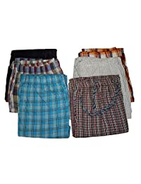 Men's 100% Cotton Lightweight Multi-Use Lounge Pants - 3 Pack (medium)