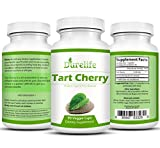 Tart Cherry Extract Supplement 90 Count 1000 mg per Veggie Capsule By DureLife It Is NON GMO - GLUTEN FREE And Full Of Antioxidants and Flavonoids Support Immune System Muscles and Joint Health Discount