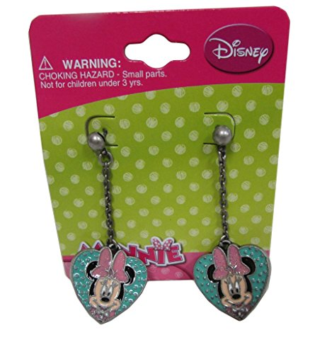 [Disney Minnie Mouse Baby Girls Dress Up Accessory - Earring Set - Teal Pink] (Maleficent Toddler Costumes)