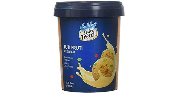 Vadilal Tutti Fruiti Ice Cream 500 Milliliter Ml Amazon Com