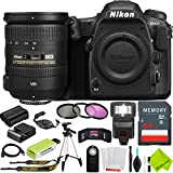 Nikon D500 DSLR Camera with Nikon 18-200mm f/3.5-5.6G Lens Beginner Bundle