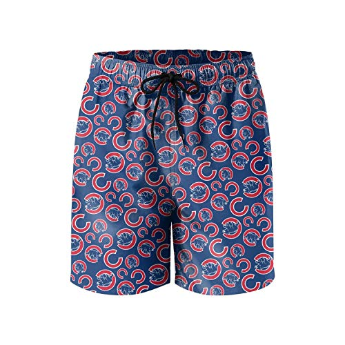 QuanJessica Man's Fashion Beach Shorts Swim Trunks with Mesh Lining