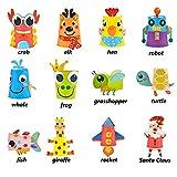 Toddler paper craft art kit - DIY Handmade Paper Cups 12pcs Preschool Crafts for Kids Boys Girls