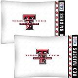 NCAA Texas Tech Red Raiders Football Set of Two Pillowcases