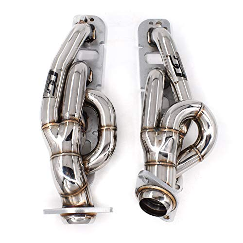 Exhaust Shorty Headers 1-3/4 x 2-1/2 in. for Dodge Ram 2009-2017 1500 2500 3500 Pickup 5.7L 345 cu. in. Hemi V8