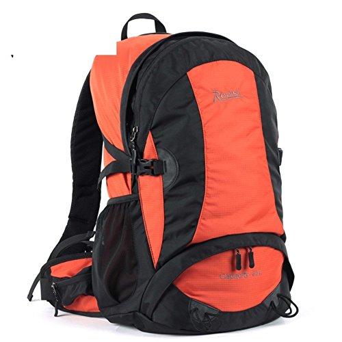 Sincere® Verpackung / Rucksäcke / Mobil / Ultraleicht im Freien wasserdichte Wanderwanderrucksack / 35L Männer und Frauen von Freizeit-Sporttasche-Orange 1 35L
