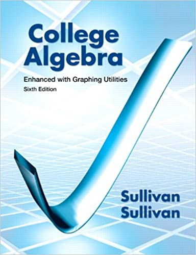 College algebra enhanced with graphing utilities 6th edition college algebra enhanced with graphing utilities 6th edition michael sullivan iii 9780321795649 amazon books fandeluxe Images