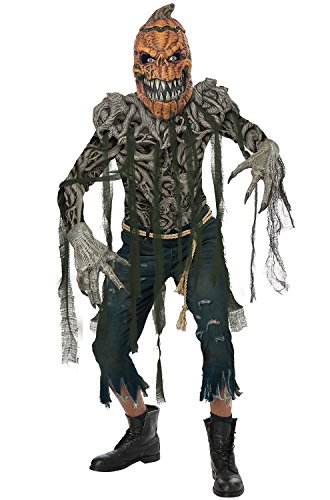 California Costumes Men's Pumpkin Creature Adult Man Costume,
