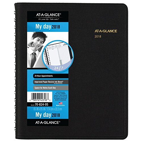 Acco AT-A-GLANCE Daily Appointment Book / Planner, Januar...