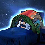 Simplefirst Foldable Children's Star Tent Pop Up Bed Tent Fairy Playhouse Dinosaur Dream Tent Best Halloween & Christmas Festival Decoration Tent Kids (Dinosaur)